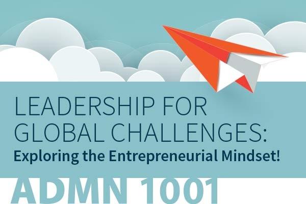 Admin 1001 - Leadership for Global Challenges