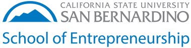 CSUSB School of Entrepreneurship logo